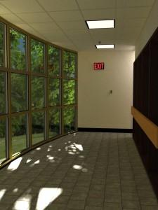 Hallway at Work