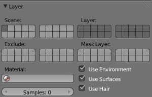 Blender Layers - Great for isolating and rendering. Not so great for finding.